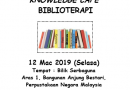 [PROGRAM PPM] KNOWLEDGE CAFE BIBLIOTERAPI